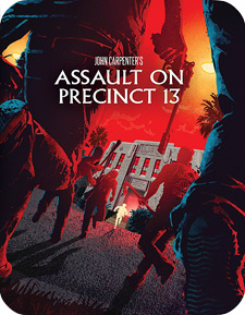 Assault on Precinct 13: Limited Edition Steelbook (Blu-ray Disc)
