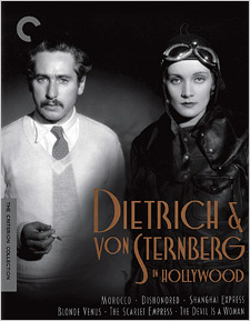 Dietrich and Von Sternberg in Hollywood (Criterion Blu-ray Disc)