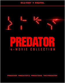 Predator 4-Film Collection (Blu-ray Disc)