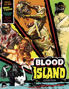 The Blood Island Collection (Blu-ray Boxed Set)