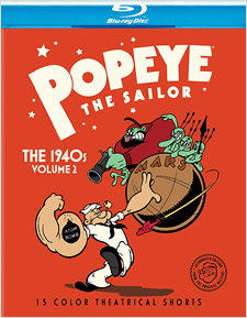 Popeye the Sailor: 1940s Volume 2 (Blu-ray Disc)
