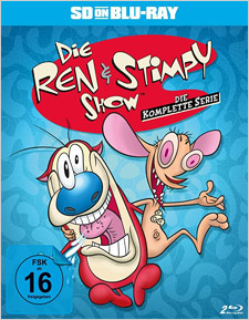 Ren & Stimpy: Complete Series Uncensored (German SD on Blu-ray)