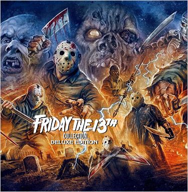 Friday the 13th Collection (Blu-ray Disc)