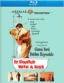 It Started with a Kiss (Blu-ray Disc)