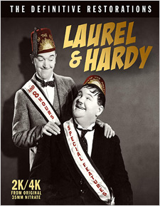 Laurel & Hardy: The Definitive Restorations (Blu-ray Disc)