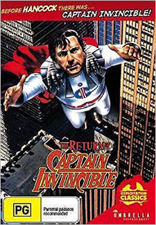 The Return of Captain Invincible (DVD)