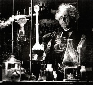 Bill in his Lab