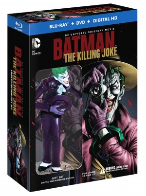 Batman: The Killing Joke - Deluxe Edition (Blu-ray Disc)