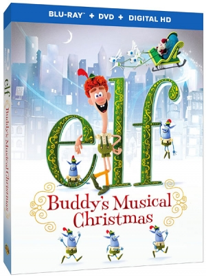 Elf: Buddy's Musical Christmas on Blu-ray