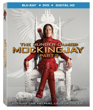 The Hunger Games: Mockingjay - Part 2 on Blu-ray
