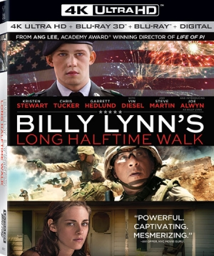 Billy Lynn's Long Halftime Walk (4K Ultra HD Blu-ray)
