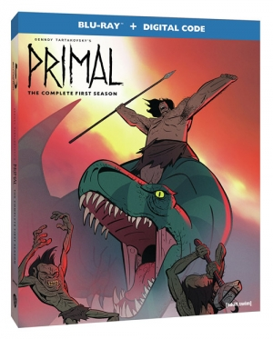 Genndy Tartakovsky's Primal: The Complete First Season (Blu-ray Disc)
