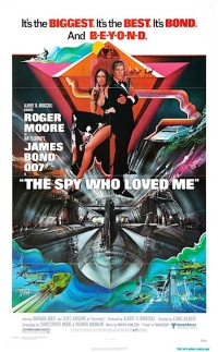 The Spy Who Loved Me one sheet