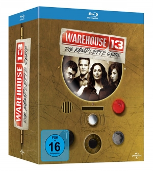 Warehouse 13 on BD in Germany only