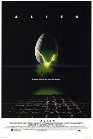 Alien (one sheet)