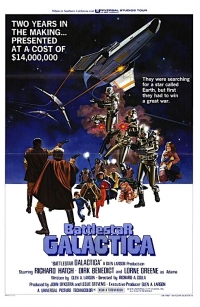 Battlestar Galactica one sheet