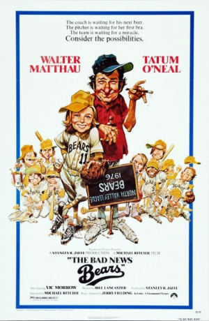 Bad News Bears one sheet
