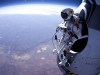 Crazy man + space jump = AWESOME!