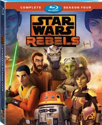 Star Wars Rebels: The Complete Fourth Season (Blu-ray Disc)