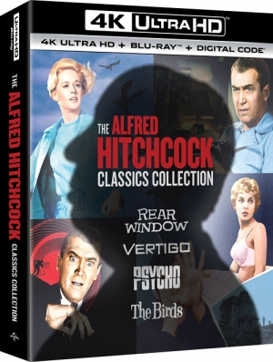 The Alfred Hitchcock Classics Collection (4K Ultra HD)