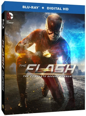 The Flash: Season Two on Blu-ray