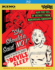 She Should'a Said No! & The Devil's Sleep (Blu-ray Review)