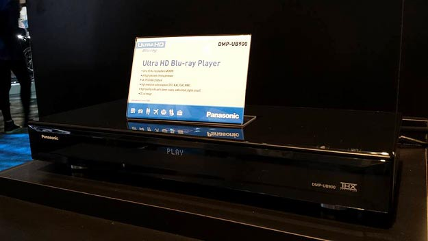 Panasonic's DMP-UB900 UHD Blu-ray player