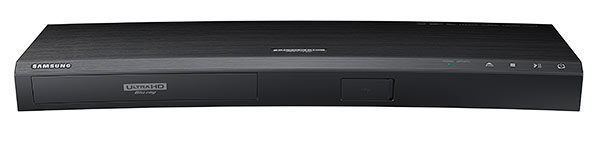 Samsung's UDB-K8500 Ultra HD Blu-ray player