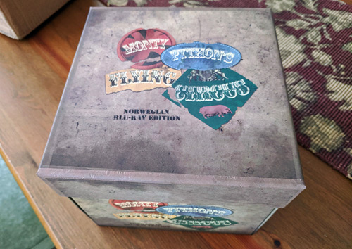 Monty Python's Flying Circus Norwegian Blu-ray Edition (Blu-ray Disc)