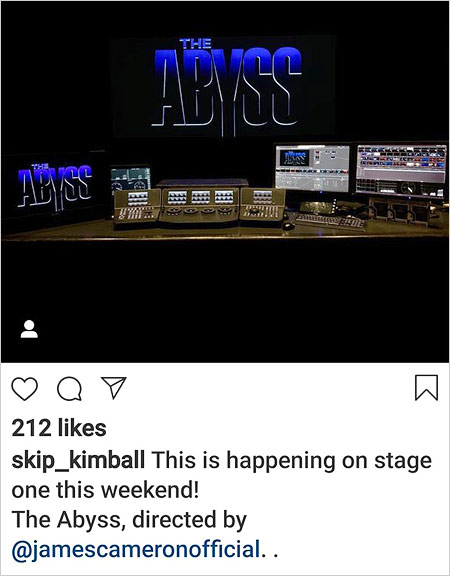 Skip Kimball Instagram post