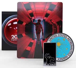 Titans of Cult exclusive 2001: A Space Odyssey Steelbook (4K Ultra HD)