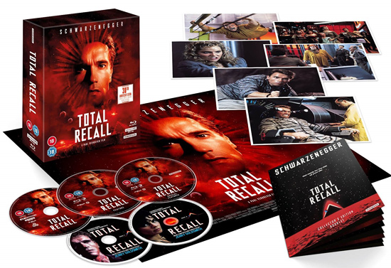 Total Recall: 30th Anniversary 4K UK Collector's Edition (4K Ultra HD)