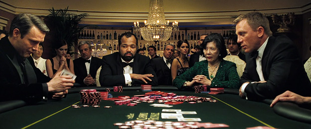 A scene from Casino Royale