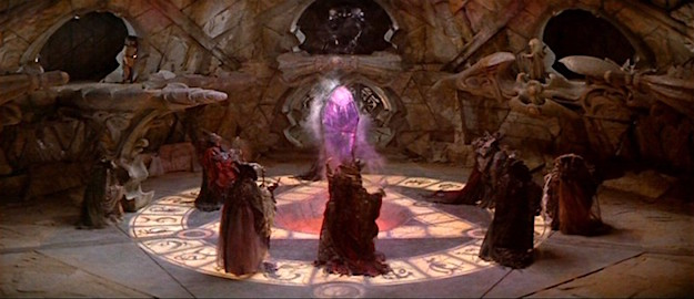 A scene from The Dark Crystal