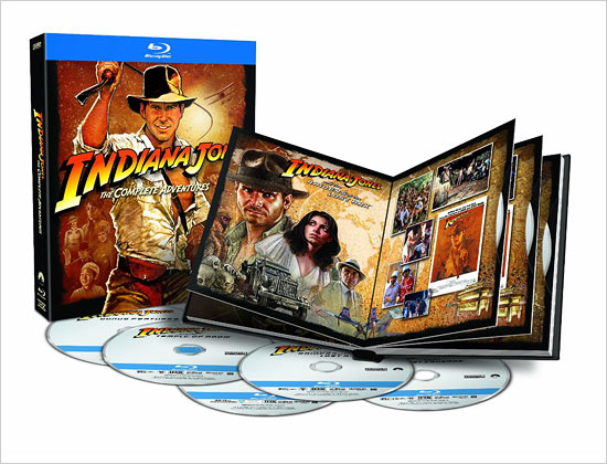 Indiana Jones: The Complete Adventures (Blu-ray Disc)