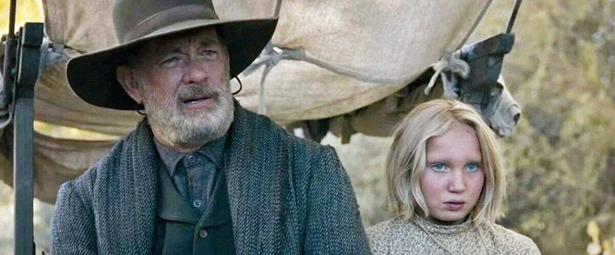 Bill spins Paul Greengrass' western drama NEWS OF THE WORLD in 4K Ultra HD from Universal