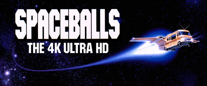 Our review of Mel Brooks' SPACEBALLS in 4K is here, coming soon to Ultra HD from Kino Lorber Studio Classics!