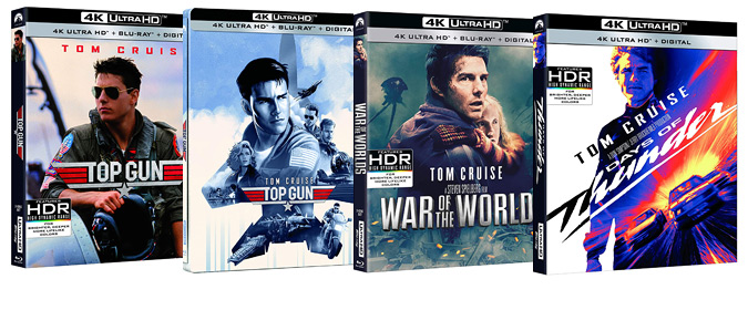 Paramount sets Top Gun, Days of Thunder, and War of the Worlds for 4K Ultra HD on 5/19 (pre-order now)!