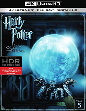 Harry Potter and the Order of the Phoenix (4K Ultra HD Blu-ray)