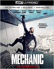 Mechanic Resurrection (4K Ultra HD Blu-ray)