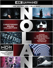 Christopher Nolan Collection (4K Ultra HD Blu-ray)