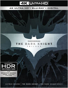 The Dark Knight Trilogy (4K Ultra HD Blu-ray)