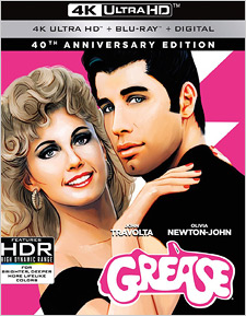 Grease: 40th Anniversary Edition (4K Ultra HD Blu-ray)