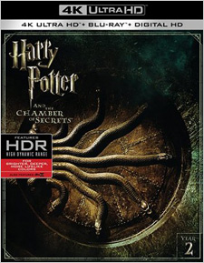 Harry Potter and the Chamber of Secrets (4K Ultra HD Blu-ray)