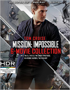 Mission: Impossible - 6-Film Collection (4K Ultra HD)