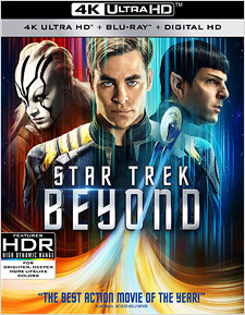 Star Trek Beyond (4K Ultra HD Blu-ray)