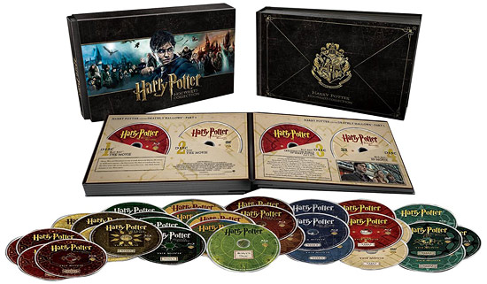 Harry Potter: Hogwarts Collection box set (Blu-ray Disc)
