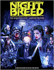 Nightbreed: The Director's Cut - Limited Edition (Blu-ray Disc)