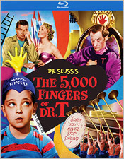 The 5,000 Fingers of Dr. T (Blu-ray Disc)