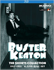Buster Keaton: The Shorts Collection 1917-1923 (Blu-ray Disc)